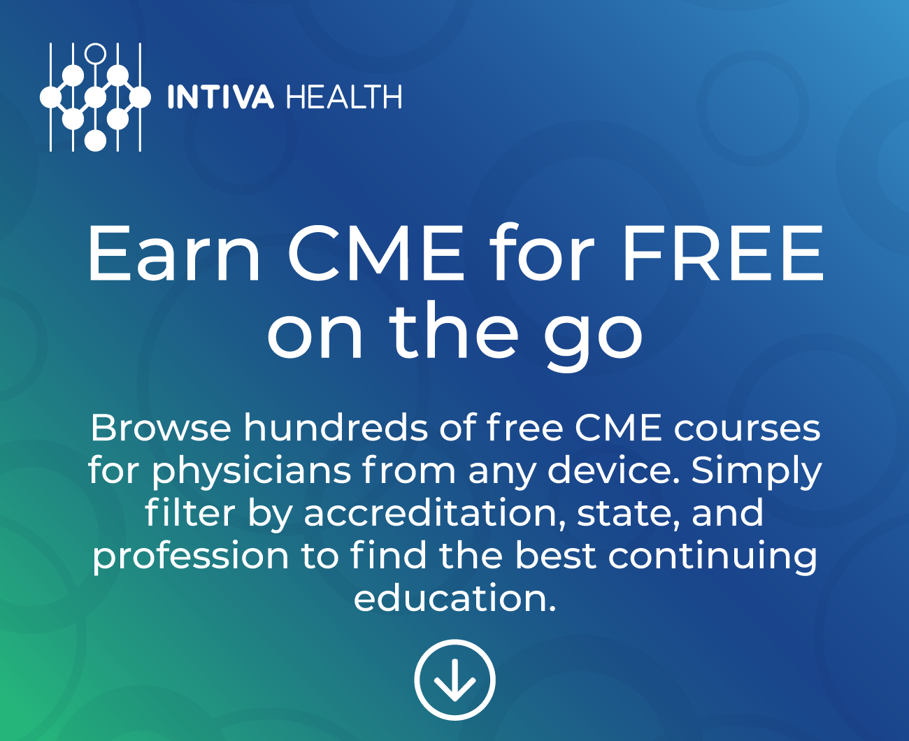 Free CME For Physicians and Nurses | Intiva Health